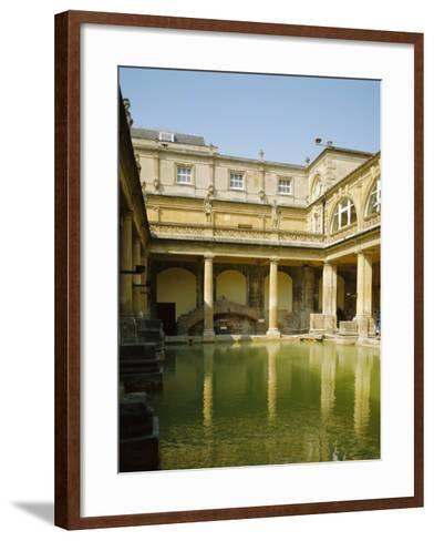 The Roman Baths, Bath, Avon, England, UK-Philip Craven-Framed Art Print