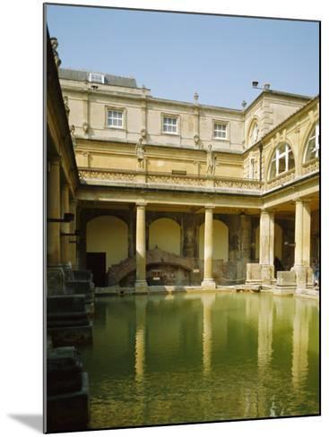 The Roman Baths, Bath, Avon, England, UK-Philip Craven-Mounted Photographic Print
