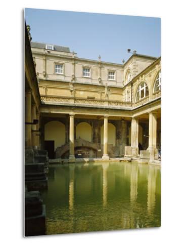 The Roman Baths, Bath, Avon, England, UK-Philip Craven-Metal Print