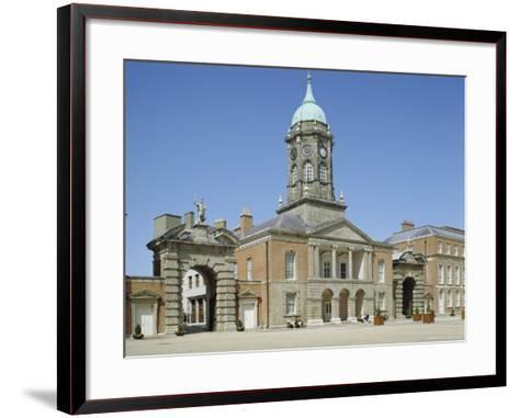 Dublin Castle, Dublin, County Dublin, Republic of Ireland (Eire), Europe-Philip Craven-Framed Art Print