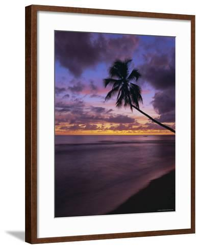 Gibbes Bay at Sunset, Barbados, West Indies, Caribbean, Central America-Gavin Hellier-Framed Art Print