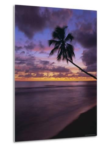 Gibbes Bay at Sunset, Barbados, West Indies, Caribbean, Central America-Gavin Hellier-Metal Print