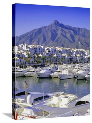 Puerto Banus, Near Marbella, Costa Del Sol, Andalucia (Andalusia), Spain, Europe-Gavin Hellier-Stretched Canvas Print