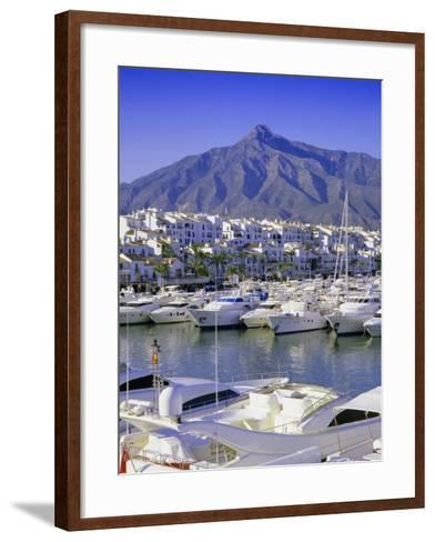 Puerto Banus, Near Marbella, Costa Del Sol, Andalucia (Andalusia), Spain, Europe-Gavin Hellier-Framed Art Print
