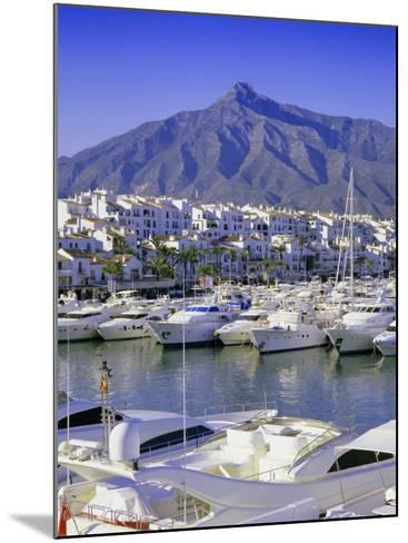 Puerto Banus, Near Marbella, Costa Del Sol, Andalucia (Andalusia), Spain, Europe-Gavin Hellier-Mounted Photographic Print