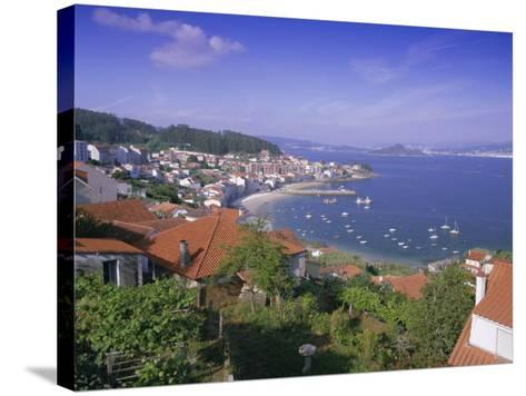 Typical Coastline Near Sanxenxo, Galicia, Spain, Europe-Gavin Hellier-Stretched Canvas Print
