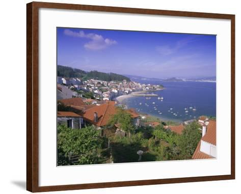 Typical Coastline Near Sanxenxo, Galicia, Spain, Europe-Gavin Hellier-Framed Art Print