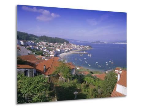 Typical Coastline Near Sanxenxo, Galicia, Spain, Europe-Gavin Hellier-Metal Print