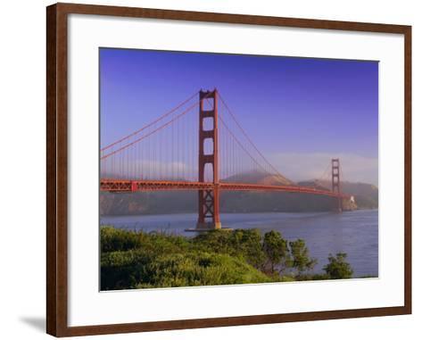 Golden Gate Bridge, San Francisco, California, USA-Gavin Hellier-Framed Art Print