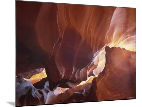 Slot Canyon Near Page, Antelope Canyon, Arizona, USA-Gavin Hellier-Mounted Photographic Print