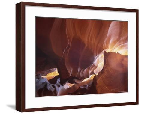 Slot Canyon Near Page, Antelope Canyon, Arizona, USA-Gavin Hellier-Framed Art Print