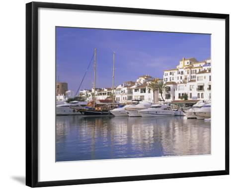 Puerto Banus, Near Marbella, Costa Del Sol, Andalucia (Andalusia), Spain, Europe-Gavin Hellier-Framed Art Print