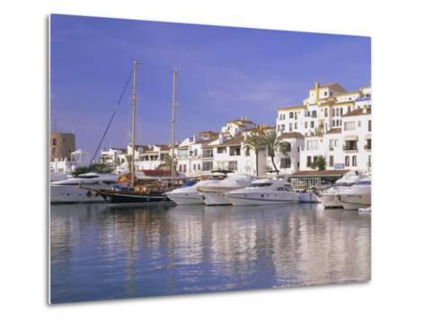 Puerto Banus, Near Marbella, Costa Del Sol, Andalucia (Andalusia), Spain, Europe-Gavin Hellier-Metal Print