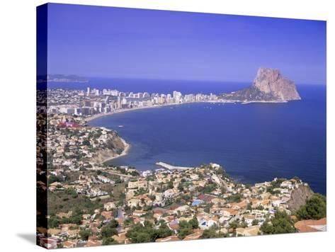 Giant Sea Rock, Penon De Ifach, Calpe, Costa Blanca, Valencia, Spain, Europe-Gavin Hellier-Stretched Canvas Print