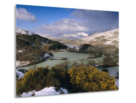 Mount Snowdon, Snowdonia National Park, Gwynedd, Wales, UK, Europe-Gavin Hellier-Metal Print