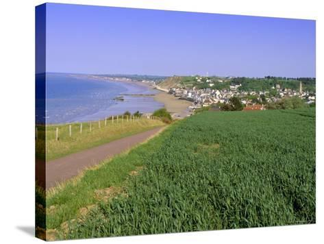 D-Day Beach, Arromanches, Normandie (Normandy), France, Europe-Gavin Hellier-Stretched Canvas Print