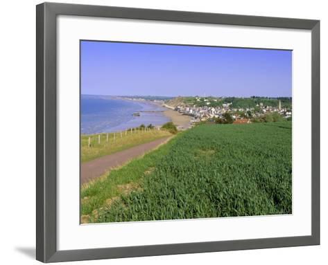 D-Day Beach, Arromanches, Normandie (Normandy), France, Europe-Gavin Hellier-Framed Art Print
