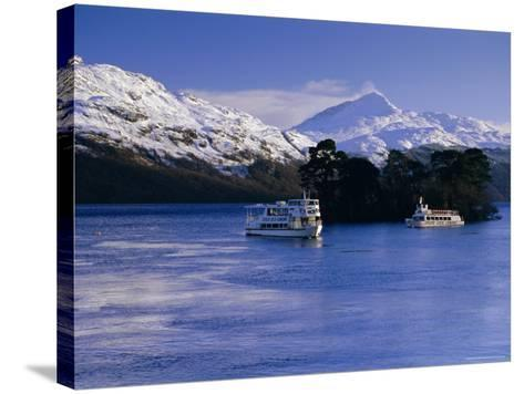 Loch Lomond in Winter, Argyll and Bute, Scotland, UK, Europe-Gavin Hellier-Stretched Canvas Print