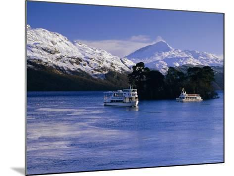 Loch Lomond in Winter, Argyll and Bute, Scotland, UK, Europe-Gavin Hellier-Mounted Photographic Print