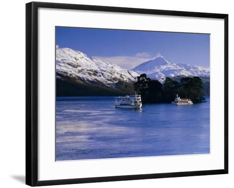 Loch Lomond in Winter, Argyll and Bute, Scotland, UK, Europe-Gavin Hellier-Framed Art Print
