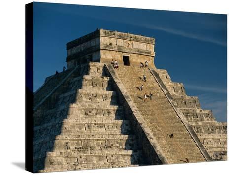 Mayan Ruins, Chichen Itza, Unesco World Heritage Site, Yucatan, Mexico, Central America-Gavin Hellier-Stretched Canvas Print