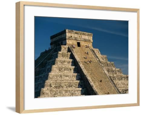 Mayan Ruins, Chichen Itza, Unesco World Heritage Site, Yucatan, Mexico, Central America-Gavin Hellier-Framed Art Print