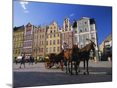 The Rynek (Town Square), Wroclaw, Silesia, Poland, Europe-Gavin Hellier-Mounted Photographic Print