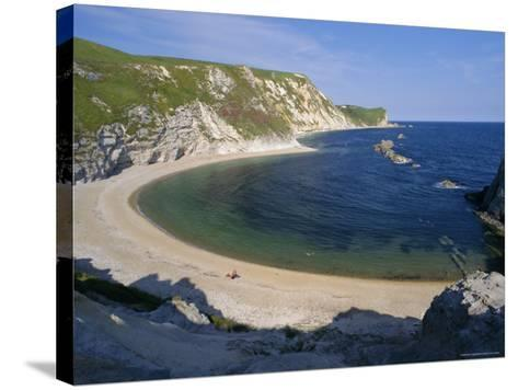 Man O'War Cove, Between Lulworth Cove and Durdle Door, Dorset, England, UK, Europe-Gavin Hellier-Stretched Canvas Print