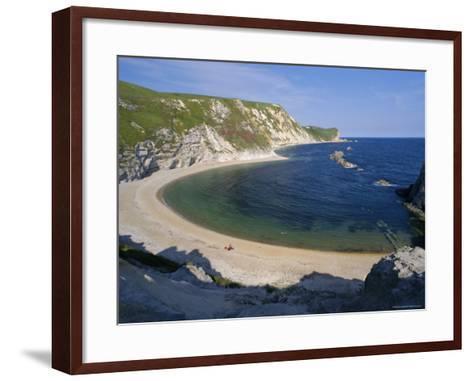 Man O'War Cove, Between Lulworth Cove and Durdle Door, Dorset, England, UK, Europe-Gavin Hellier-Framed Art Print