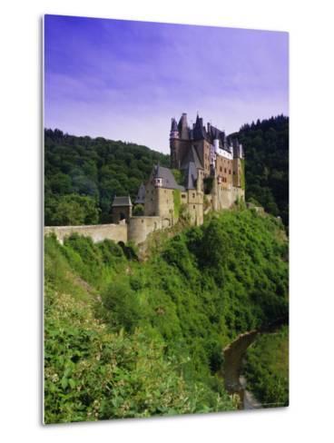 Burg Eltz, Near Cochem, Rhineland-Palatinate, Germany, Europe-Gavin Hellier-Metal Print