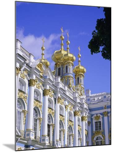 Baroque St. Catherine Palace, Pushkin, Near St. Petersburg, Russia, Europe-Gavin Hellier-Mounted Photographic Print