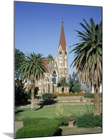 Christuskirche (Lutheran Christian Church) and Parliament Gardens, Windhoek, Namibia, Africa-Gavin Hellier-Mounted Photographic Print