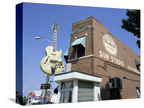 Sun Studios, Memphis, Tennessee, United States of America, North America-Gavin Hellier-Stretched Canvas Print