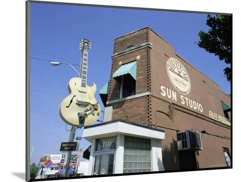 Sun Studios, Memphis, Tennessee, United States of America, North America-Gavin Hellier-Mounted Photographic Print