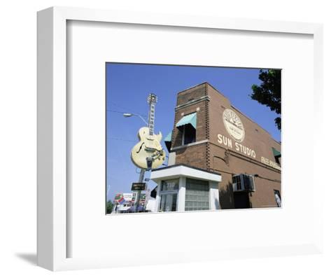 Sun Studios, Memphis, Tennessee, United States of America, North America-Gavin Hellier-Framed Art Print
