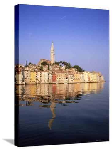 Old Town Houses and Cathedral of St. Euphemia, Rovinj, Istria, Croatia, Europe-Gavin Hellier-Stretched Canvas Print