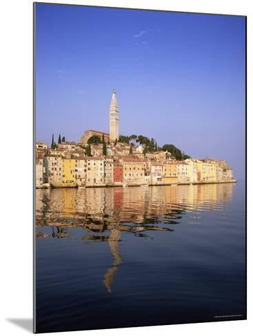 Old Town Houses and Cathedral of St. Euphemia, Rovinj, Istria, Croatia, Europe-Gavin Hellier-Mounted Photographic Print