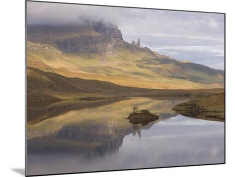 Loch Leathan, the Old Man of Storr, Isle of Skye, Inner Hebrides, West Coast, Scotland, UK-Gavin Hellier-Mounted Photographic Print