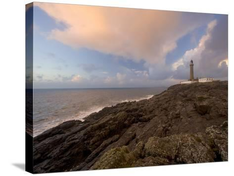 Ardnamurchan Lighthouse, at the Westernmost Point of the British Mainland, West Coast, Scotland, UK-Gavin Hellier-Stretched Canvas Print