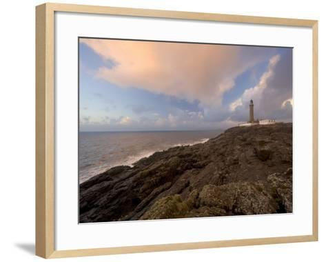 Ardnamurchan Lighthouse, at the Westernmost Point of the British Mainland, West Coast, Scotland, UK-Gavin Hellier-Framed Art Print