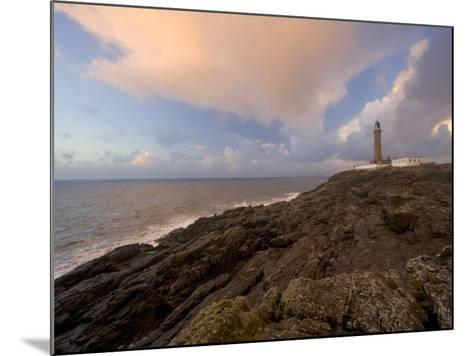Ardnamurchan Lighthouse, at the Westernmost Point of the British Mainland, West Coast, Scotland, UK-Gavin Hellier-Mounted Photographic Print