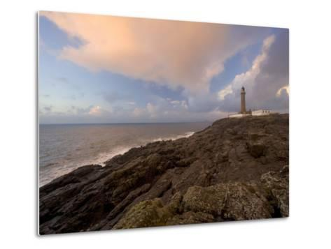 Ardnamurchan Lighthouse, at the Westernmost Point of the British Mainland, West Coast, Scotland, UK-Gavin Hellier-Metal Print