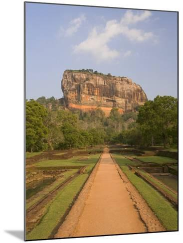 The Rock Fortress of Sigiriya (Lion Rock), Unesco World Heritage Site, Sri Lanka, Asia-Gavin Hellier-Mounted Photographic Print