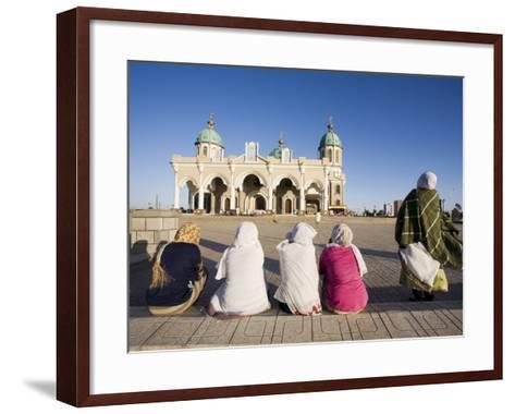 The Christian Medehanyalem Church, Addis Ababa, Ethiopia, Africa-Gavin Hellier-Framed Art Print