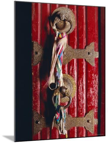 Detail of Main Door, Potala Palace, Lhasa, Tibet, China, Asia-Gavin Hellier-Mounted Photographic Print