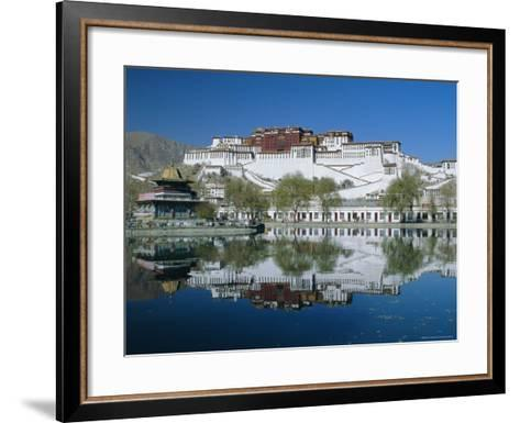 The Potala Palace and Reflection, Lhasa, Tibet, China, Asia-Gavin Hellier-Framed Art Print