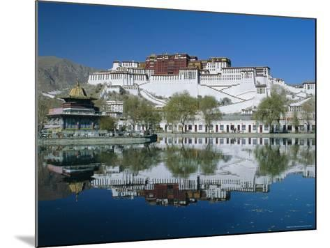 The Potala Palace and Reflection, Lhasa, Tibet, China, Asia-Gavin Hellier-Mounted Photographic Print