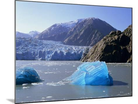 Tracy Arm Glacier, Alaska, USA-Gavin Hellier-Mounted Photographic Print