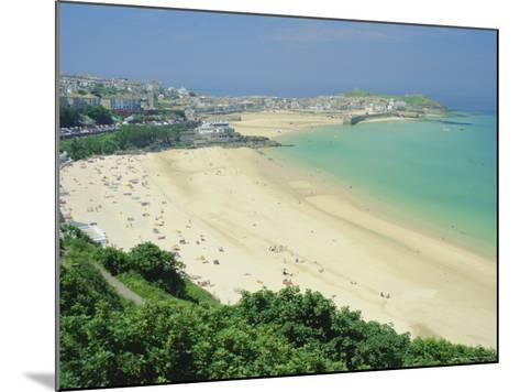Porthminster Beach, St. Ives, Cornwall, England, UK-Gavin Hellier-Mounted Photographic Print