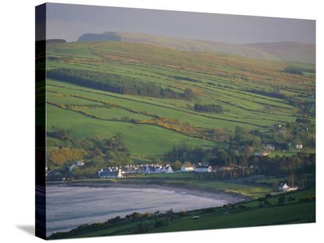 Coast, Hills and Cushendun, County Antrim, Ulster, Northern Ireland, UK, Europe-Gavin Hellier-Stretched Canvas Print